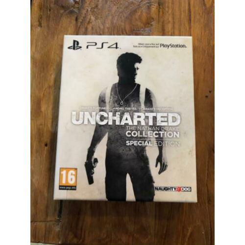 Ps4Uncharted The Nathan Drake.Collection Spc edition
