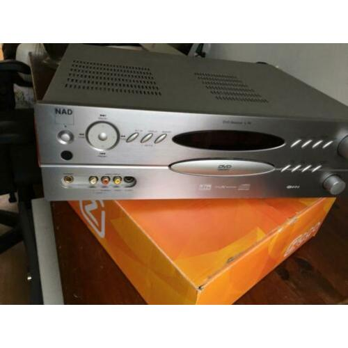 NAD dvd/cd/mp3 RECIEVER MODEL L 70
