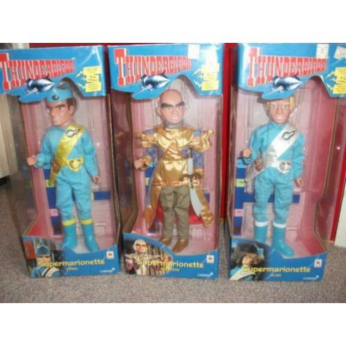 Thunderbirds Supermarionette poppen