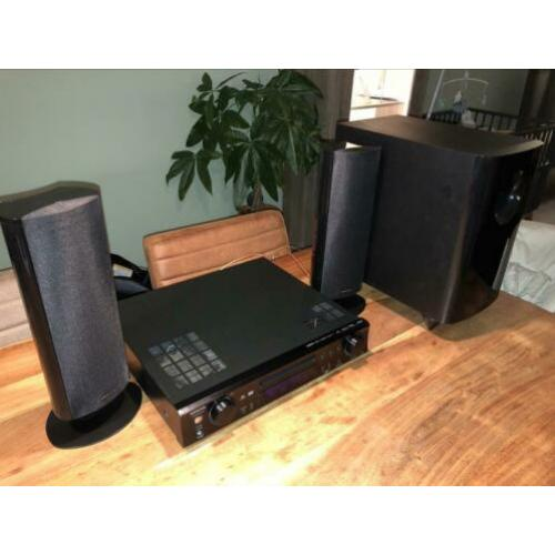 Onkyo DR-S501 receiver DVD 2.1 Home Cinema set