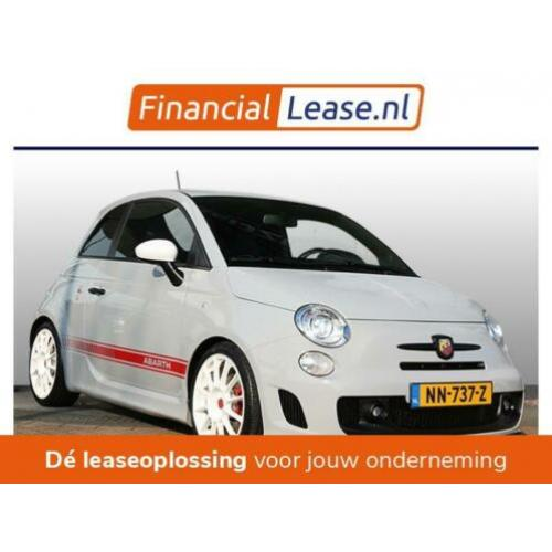 Fiat 500 1.4 T-Jet Abarth Turismo Leer SS Uitlaat Xenon 161P