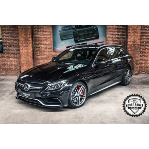 Mercedes-Benz C-Klasse Estate 63 AMG S 510PK LED|Panodak|Bur