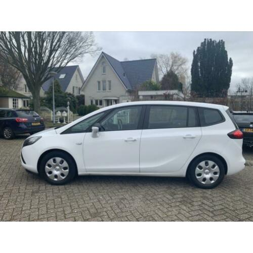 Opel Zafira Tourer 1.4 T 88KW 2012 Wit 7 Persoons