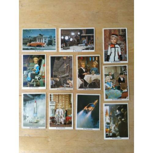 Thunderbirds Monty Gum tv-cards 1966 serie 2