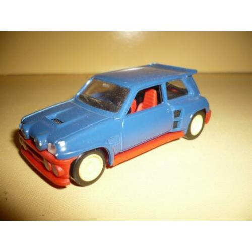 Mie18> oude solido renault maxi 5 turbo blauw
