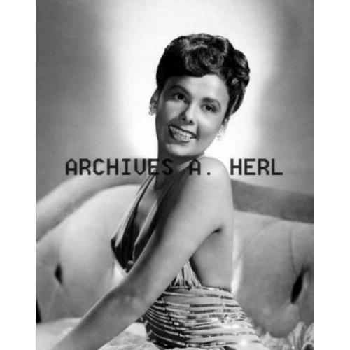 Lena Horne actress and singer portrait photograph foto